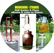 Still Plans Guide/How to Make Alcohol Moonshine Whisky Ethanol/CD BOOKS+VIDEO LK