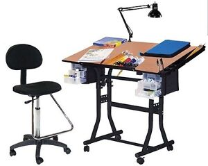 ... Craft Drawing Art Hobby Drafting Table Desk Combo