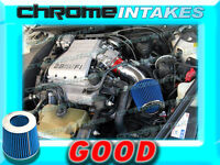 Red Blue 90-94 Chevy Lumina Oldsmobile Cutlass Ciera/supreme 3.1l Air Intake