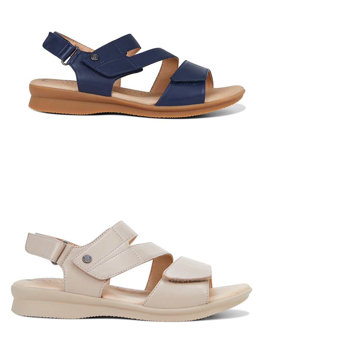 femmes Hush Puppies Nyssa Sandals Straps Summer Casual Work Comfortable chaussures