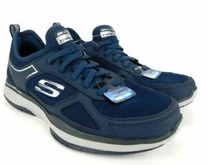 Skechers Mens Burst TR With Air Cooled Memory Foam Athletic Shoe