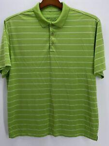 Nike-Golf-Short-Sleeve-Performance-Polo-Shirt-Men-039-s-Size-Large-Dri-Fit-Green