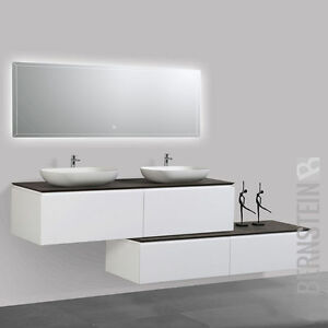 Lussuoso mobile bagno SPRING 1500,sideboard, lavabo, specchio LED ...