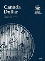 Canadian Small Cents No. 2, 1989-2012, Whitman Coin Folder