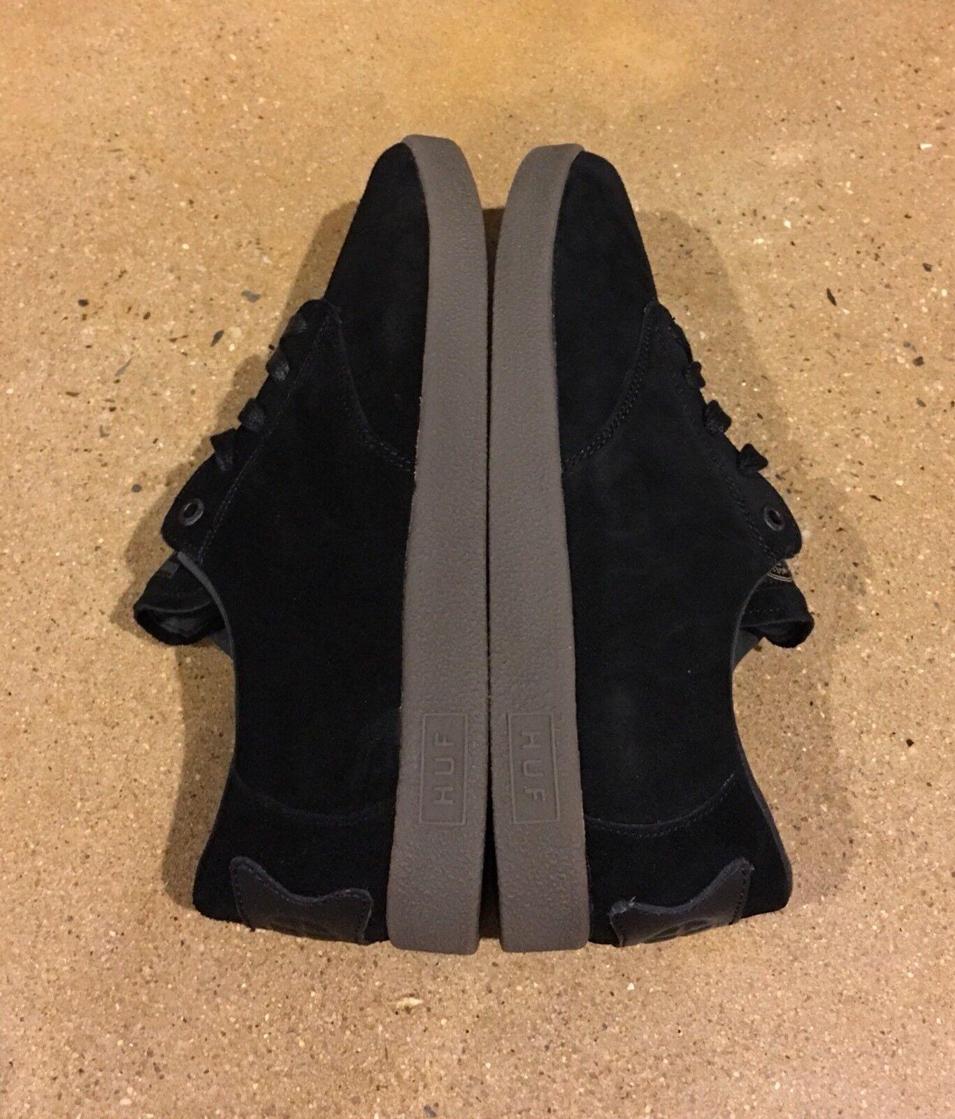 Huf Hufnagel Pro Size 9.5 US Black BMX DC Skate Shoes Keith Hufnagel Deadstock