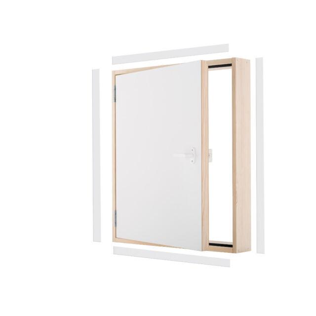 Sgabuzzino In Legno.Porta Sgabuzzino Di Supporto Legno Extra Termo Ud 0 85 W M2 K Oman 100x70