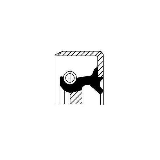 Wellendichtring, Automatikgetriebe CORTECO 19034104B