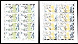Tschechische Republik Kleinbögen MiNr. 472-73 postfrisch MNH Cept 2006 (V740