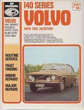 VOLVO 142 144 & 145 ( 1.8 & 2.0 L INJECTION ) 1970 - 1972 WORKSHOP MANUAL VGC