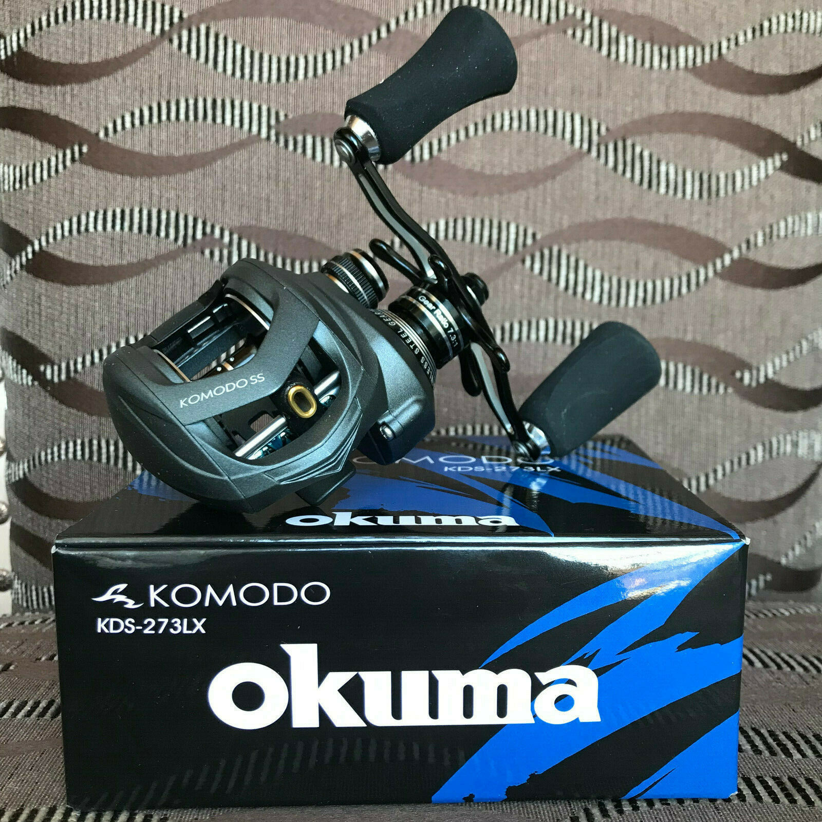 Okuma Komodo SS KDS -273LX Linke Hand baitcastrolle