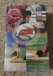 1994-Score-Series-1-Baseball-Cards-Factory-Sealed-Box-36-Packs