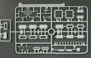 DRAGON-1-35-Scale-Pz-Kpfw-III-5cm-Ausf-H-Parts-Tree-K-from-Kit-No-6642