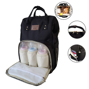 Multi-Purpose Organiser for busy parents Unisex Kids Baby Changing Backpack