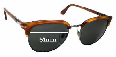 SFX Replacement Sunglass Lenses fits Persol Ratti 009 55mm Wide
