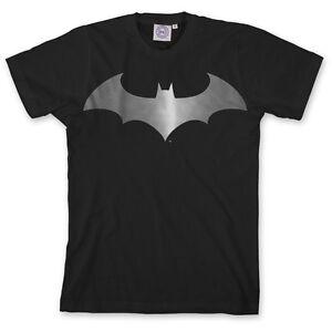 ## L@@K limited SALE ## BATMAN Modern Metallic Logo Tee Official DC S-XL