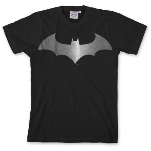 ## L@@K limited SALE ##  BATMAN Modern Metallic Logo Tee Official DC S-XL