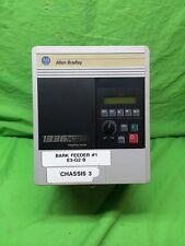 ALLEN BRADLEY FREQUENCY DRIVE 1336F-BRF50-AN-EN 1201-HCS1 5HP