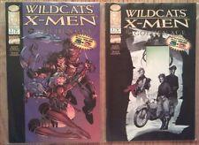 WildC.A.T.S & X-Men Golden, Silver, Modern unread X-over 3-D sets w/ Dark Age