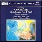 Camargo Guarnieri - : Violin Sonatas 2, 3 & 7; Canção sertaneja (1997)