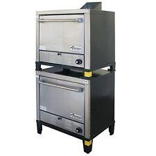 Peerless C231p 30 Gas Pizza Deck Oven Double Deck