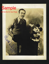 WALT DISNEY Mickey Mouse Signed Autographed Reprint Photo #1