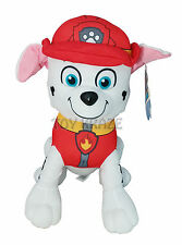 "PAW PATROL PLUSH! MARSHALL RED SMALL DOG PUPPY DALMATIAN SOFT DOLLS 6.5-7"" NEW"