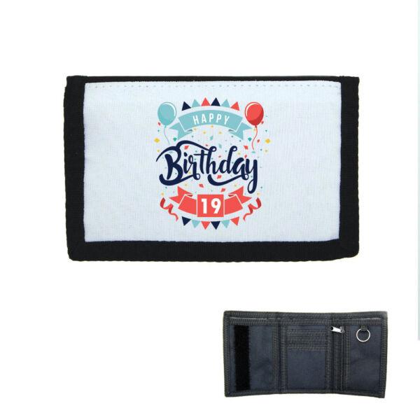 Porte-monnaie à Scratch Portefeuille Happy Birthday 19