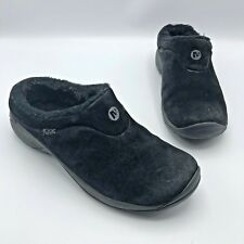 9ad117eb611 Merrell Encore Ice Women Black Suede Fur Lined Comfort Shoe Size 8.5 Pre  Owned