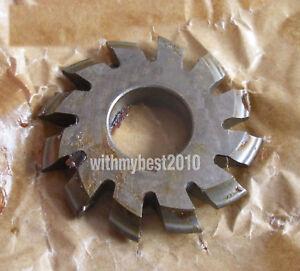 Lot 1pcs HSS M1 20 degree #7 Cutting Range 55-134 Teeth Involute Gear Cutter