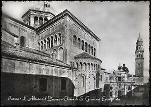 tarjeta-postal-PARMA-l-039-abside-de-duomo-y-de-la-iglesia-de-s-giovanni-evangelista