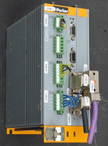 Parker Hannifin COMPAX C3S025V2F10 I20 T11 M00 Servo Drive