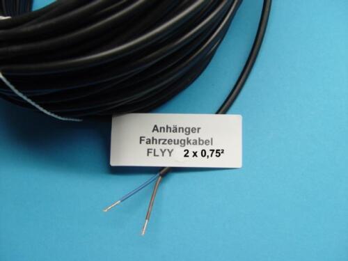 Kabel 2 m = 1,30 € für Anhänger Trailer Landmaschinen 2 Adrig  L03001