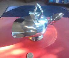 """BELLA GRANDE VINTAGE SILVER PLATE """"CARBONE affondiamo"""" sugar bowl & Scoop"""