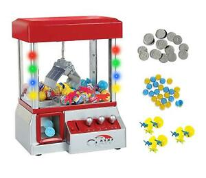 Home-Arcade-Carnival-Crane-Claw-Game-Electronic-Grabber-Candy-Gum-Toys-Machine