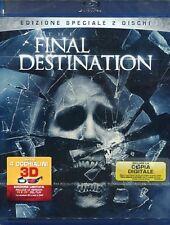 Final Destination  2D + 3D (Blu Ray + DVD) WARNER HOME VIDEO