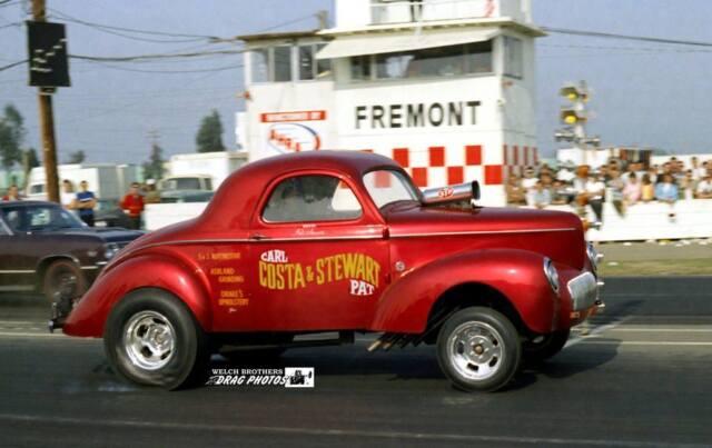 Decals: Carl Costa & Pat Stewart '41 Willys Gasser