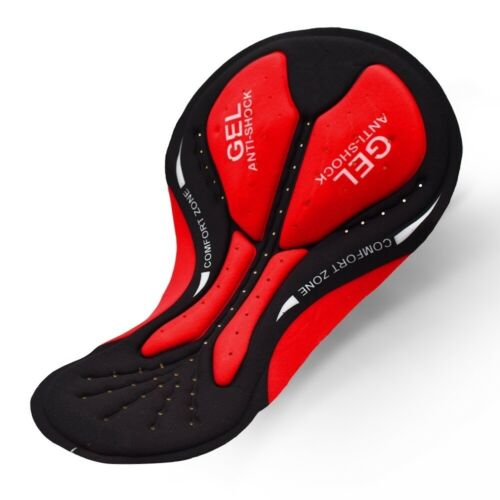 3D Cycling Gel Pad Shockproof Bicycle Shorts Pads Cushion Shockproof Breathable