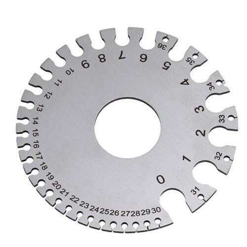 Metal Wire Thickness Gauge Stainless Steel Storage Sleeve Diameter Q