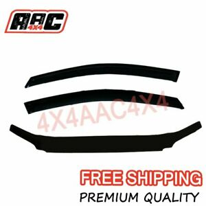Ford-Falcon-FG-UTE-2008-2014-Bonnet-Protector-amp-Window-Visors-Weather-Shields