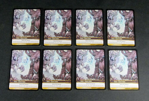8 World of Warcraft WoW TCG Force of Nature Outland Promo Extended Art Rare