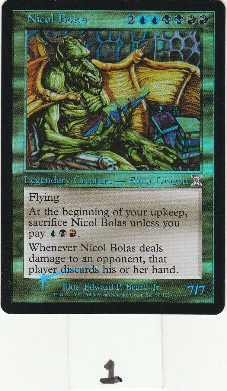 Nicol Bolas  Time Spiral    (Foil)  Singles  MTG Magic the Gathering  NM ca3d8c