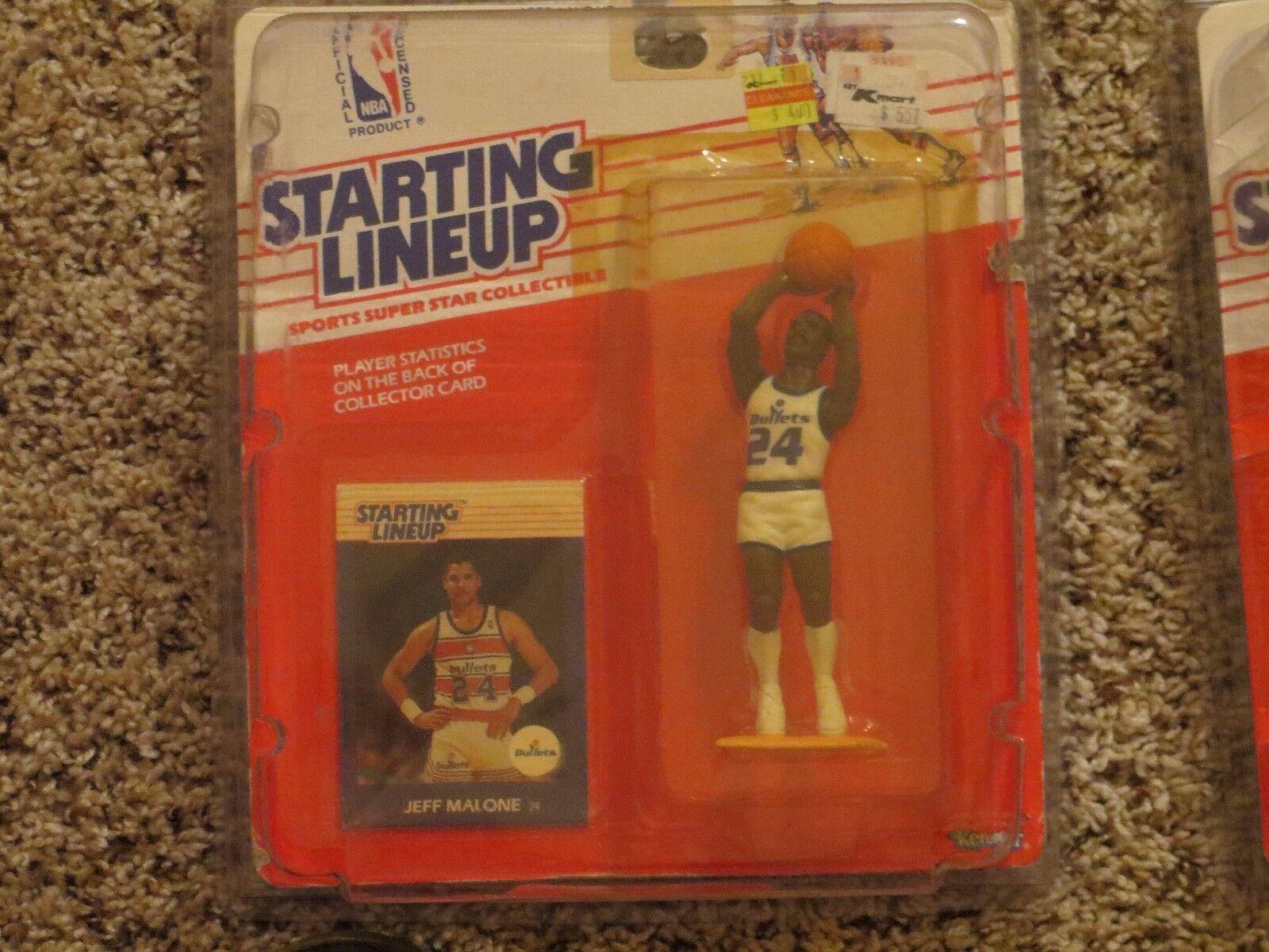 1988 Jeff Malone Starting Lineup basketball rookie Washington Bullets