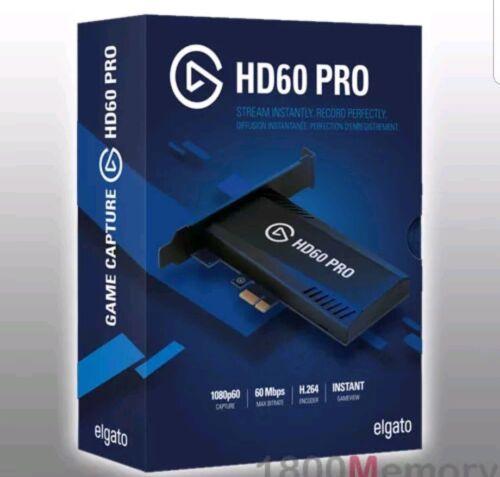stream and record in 1080p60 Elgato Game Capture HD60 Pro