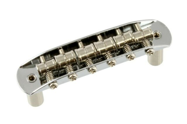 NEW Chrome BRIDGE & Hardware for Fender Mustang Guitar Vintage SB-0223-010