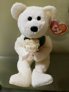 """TY Beanie Baby """"Dear One"""" Bear w/tag protector- NEW -FREE SHIPPING!"""