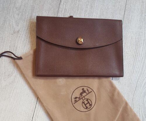 Super État Hermes Pouch Bag Hermès Pochette Dust Modèle Rio wXxPvX6Rq
