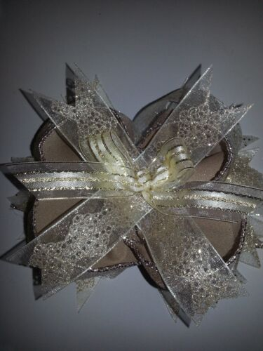 Gold Boutique Hair Bow