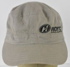 9a16657c87e Gray Hoyt Archery Co Logo Souvenir Promo Embroidered Cadet Hat Cap Fitted
