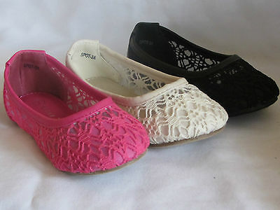 lorita42 Girl Dress Flats w//Flower Toddler Pageant Flower Girls Party Shoes