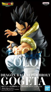 Japan Banpresto Dragon ball Super Strongest fusion fighter SS Gogeta Kamehameha